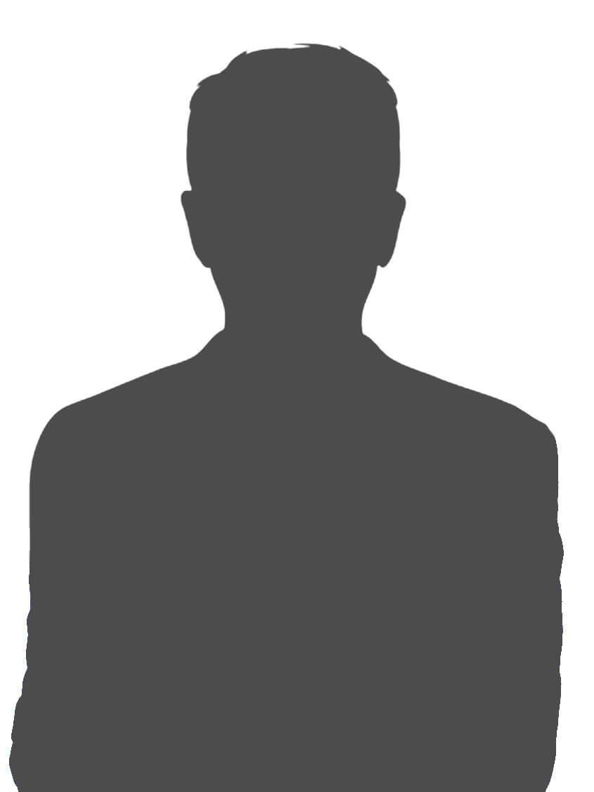 Silhouette einer Person - Platzhalter